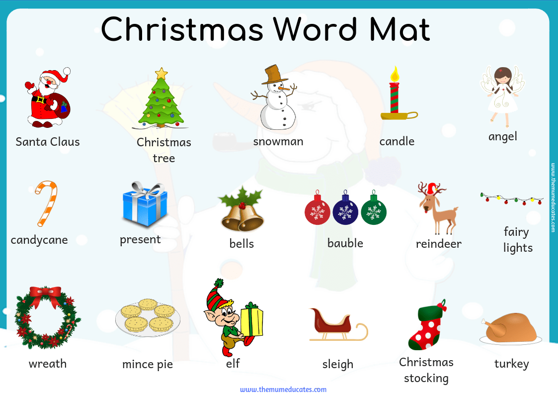 Word Mat Archives