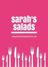 Sarahs Salads - A cook book of yummy salads