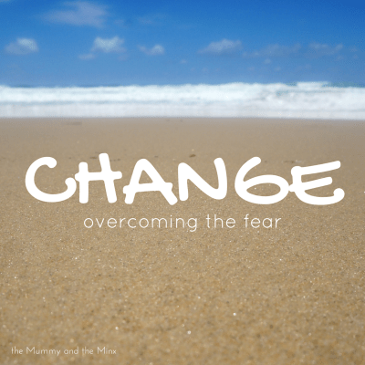 Change overcoming the fear