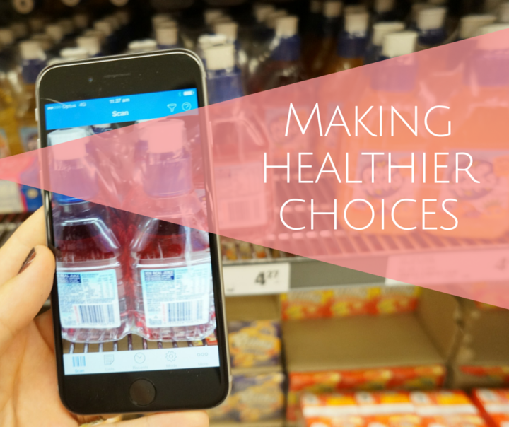 Making healthier choices