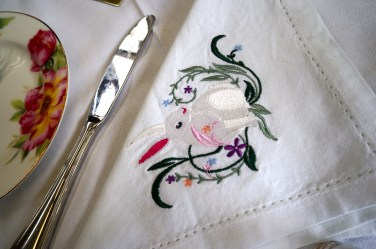 Embroidered loveliness