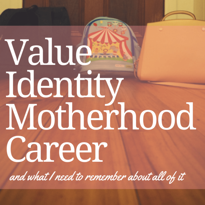 Value, Identity, Motherhood, Career