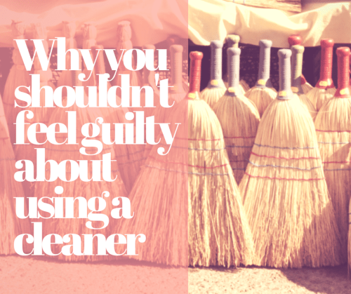 Why you shouldn't feel guilty about using