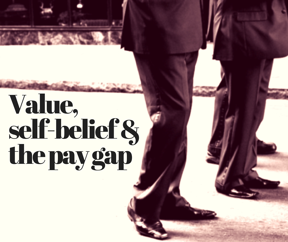 value self belief and the pay gap