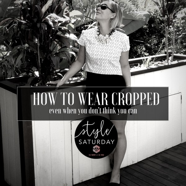 how to wear cropped