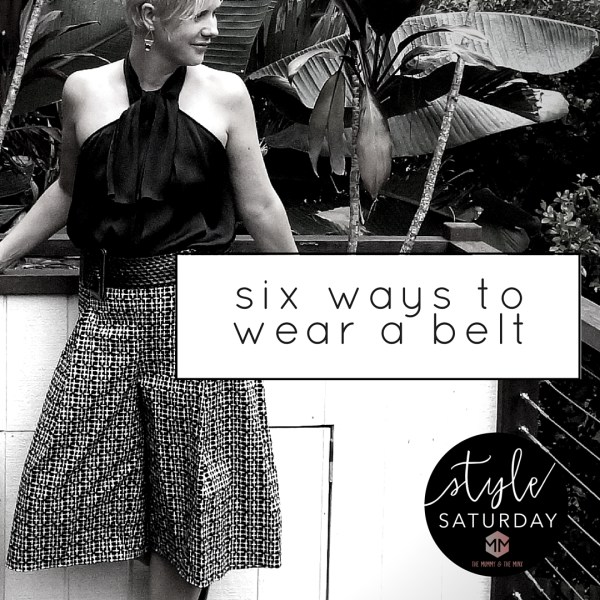 6 ways to wear a belt