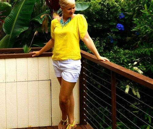 Yellow and blondes