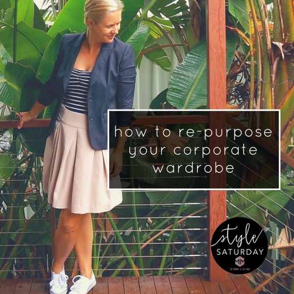 how to turn you corporate wardrobe into a casual one