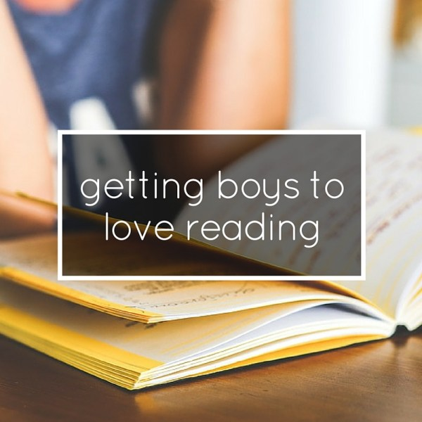 getting boys to love reading