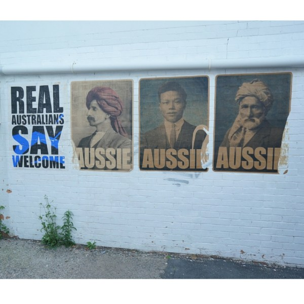 Real Australians Say welcome