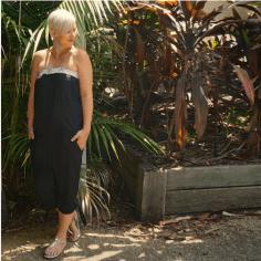 Summer Dressing: Beach, BBQ and Bar - Jumpsuit BBQ