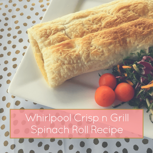 Whirlpool Crisp and Grill Review and Spanakopita recipe