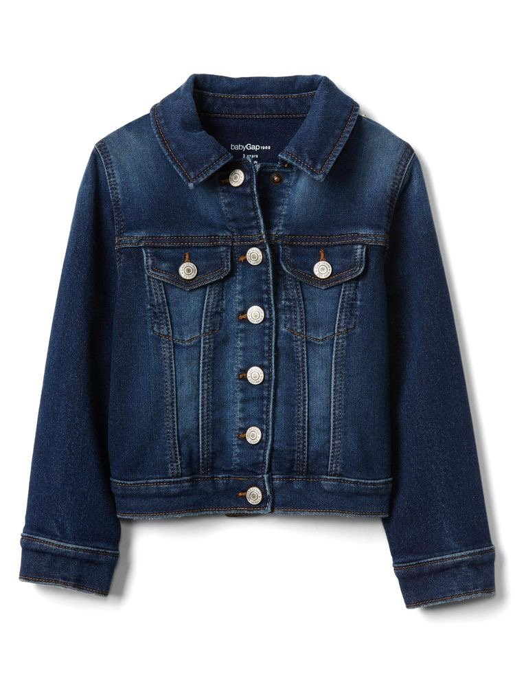 denim jacket from Gap in my toddler shopping wish list