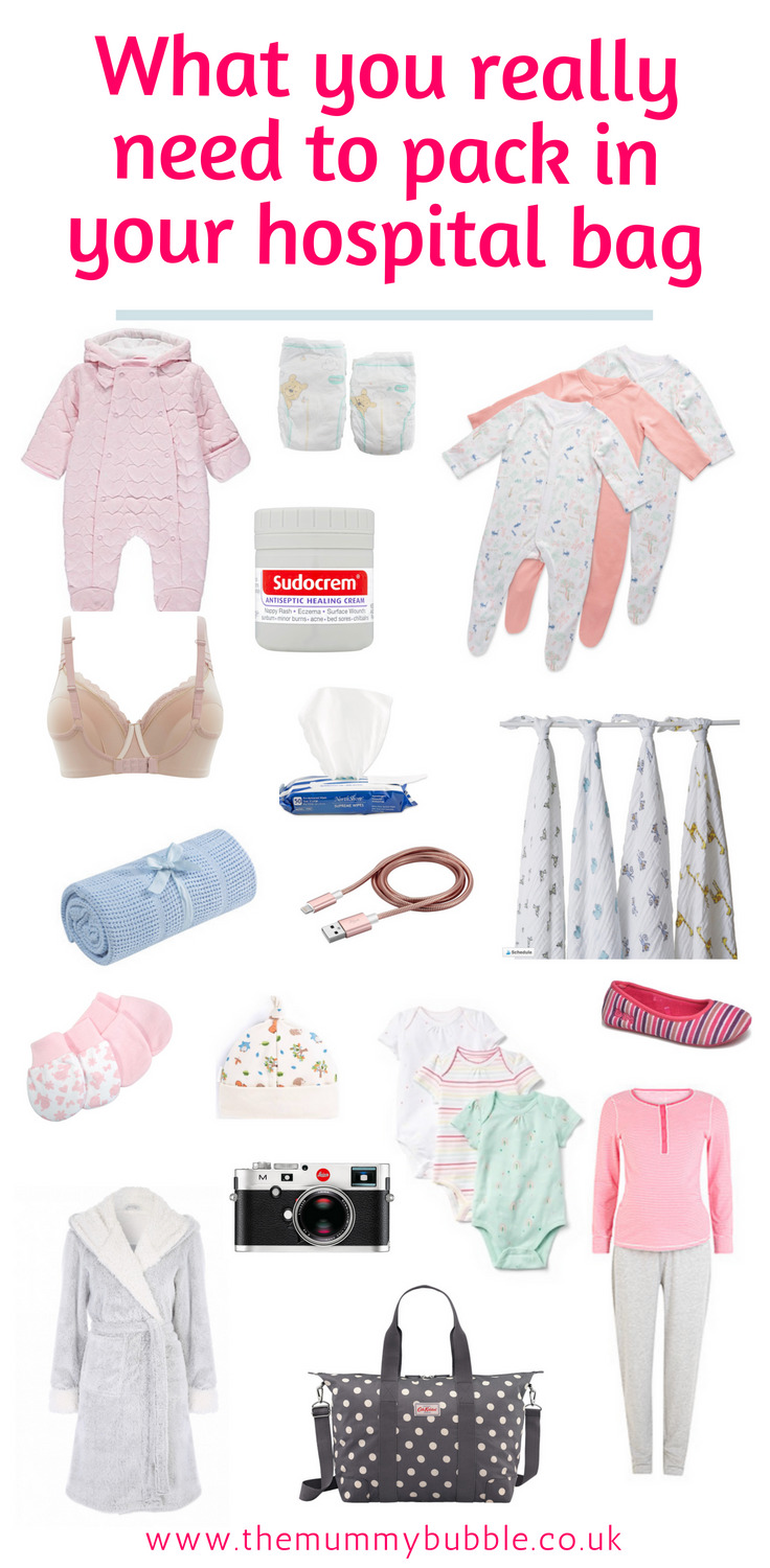 Your hospital bag! What pregnant mamas really need in their hospital bag and how to keep it organised for a stress-free hospital stay