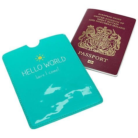 Christmas gift ideas for her: passport cover