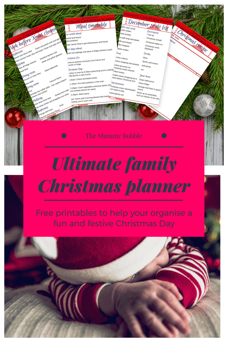 Hosting Christmas this year? Here are amazing tips and free printables to help you organise Christmas Day lunch and host a fun family celebration