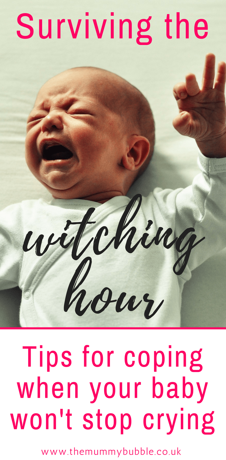 The witching hour - how to cope when baby is fussy in the evening