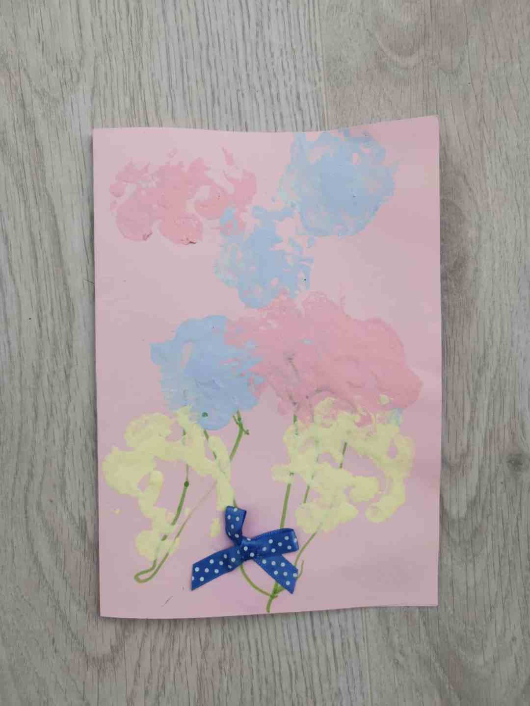 Mother's Day cards that toddlers can make