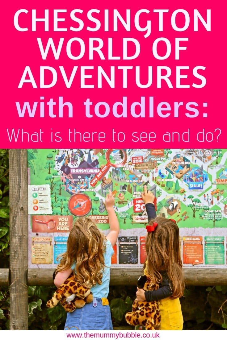 Chessington World of Adventures with toddlers