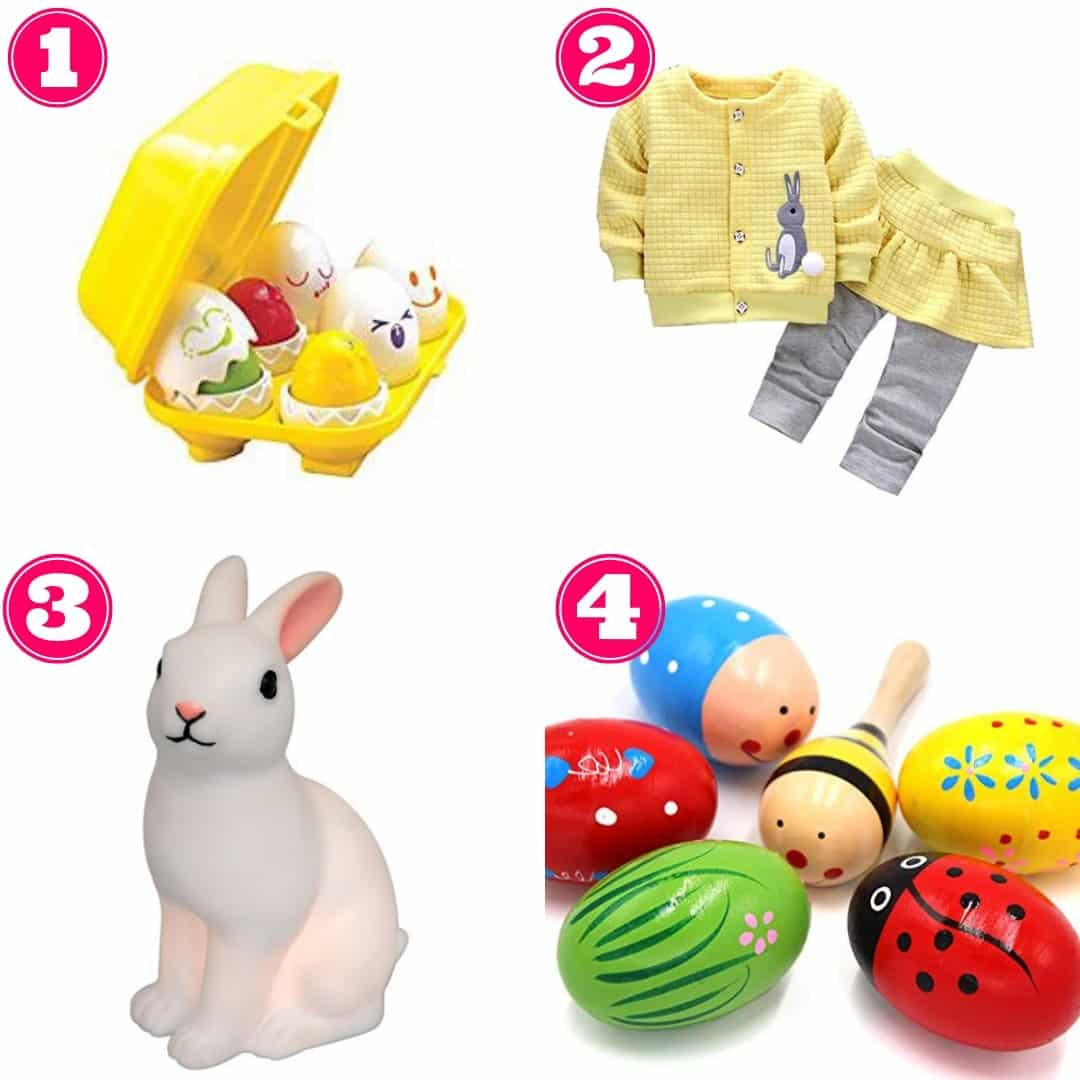 Non-chocolate Easter gift ideas for babies