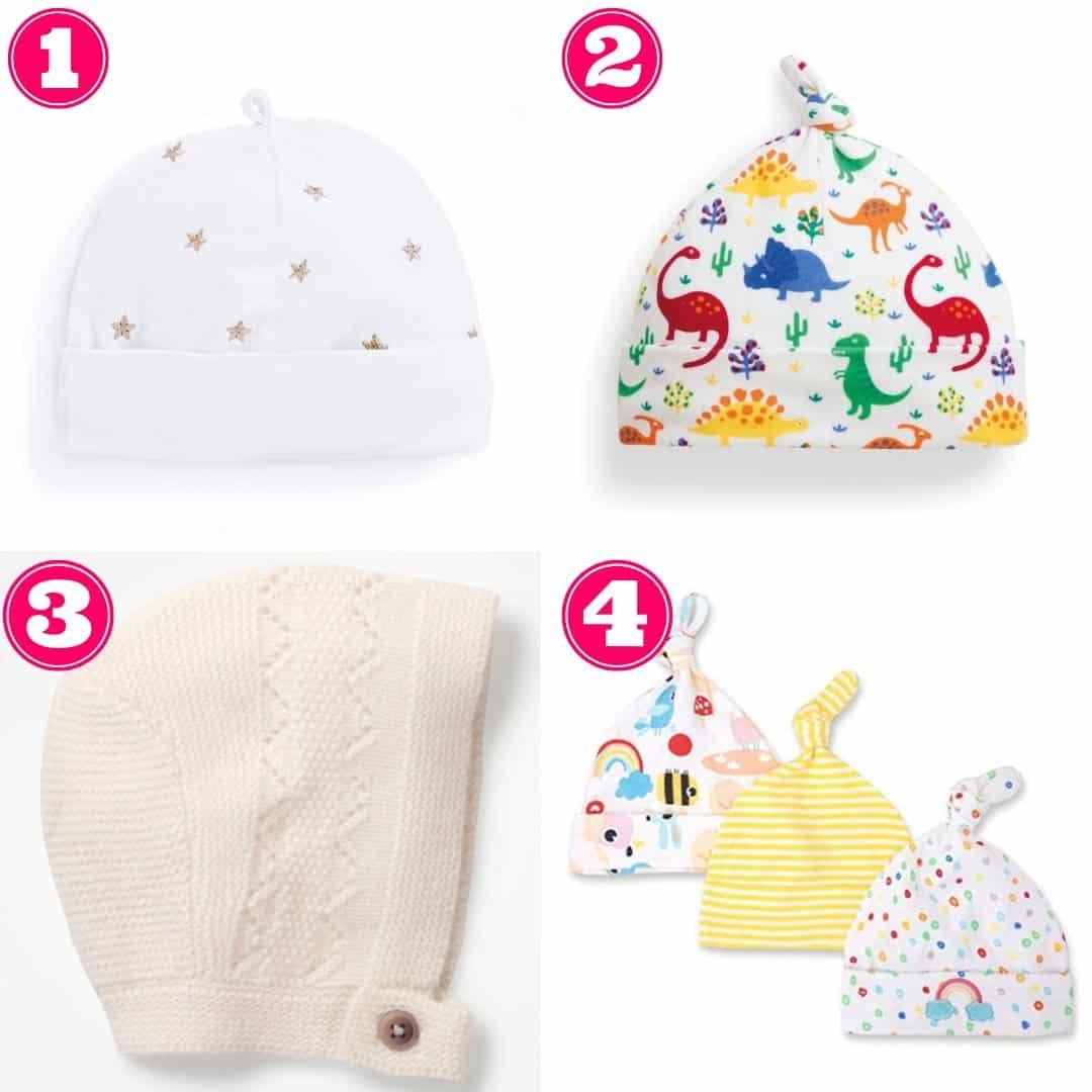 gender neutral baby hats