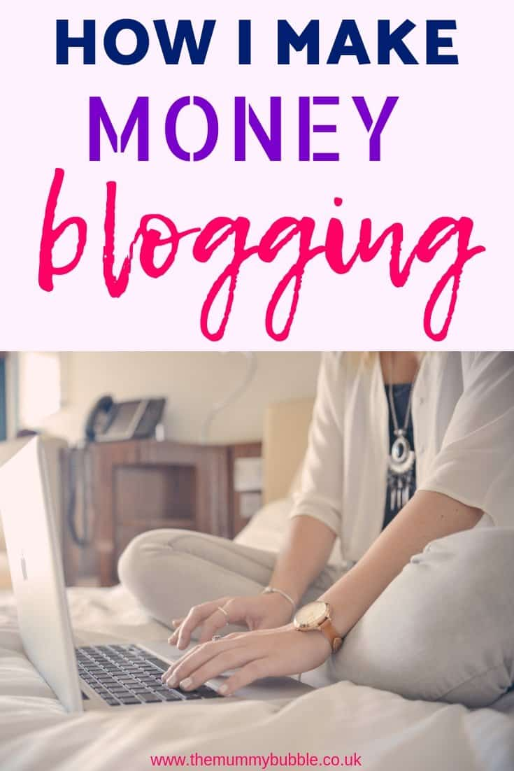 How to make money from a mummy blog