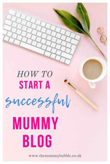 How to launch a successful mum blog