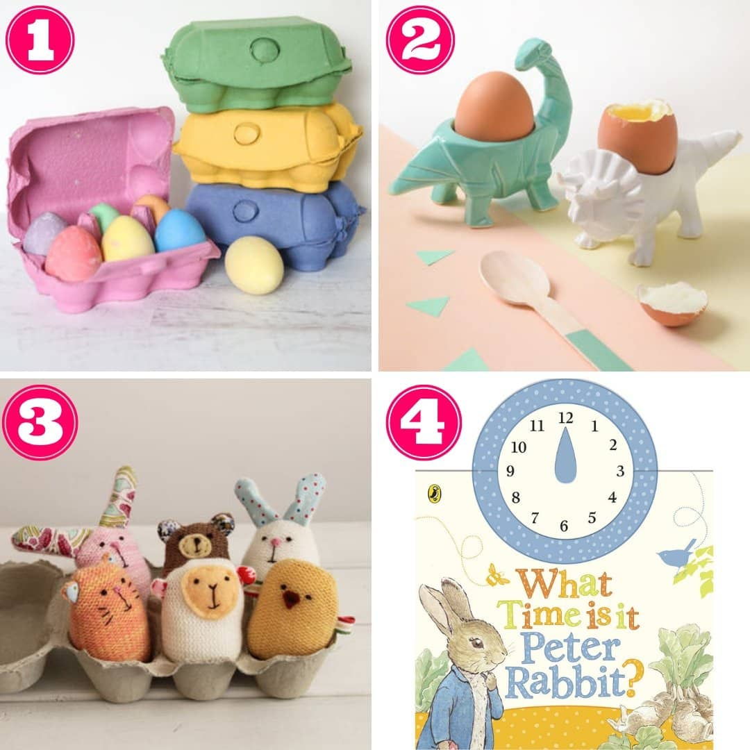 Non-chocolate Easter gift ideas for toddlers