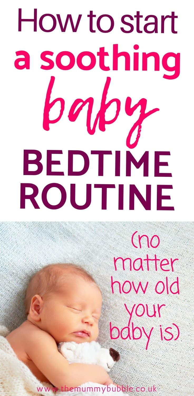 Tips for starting a baby bedtime routine