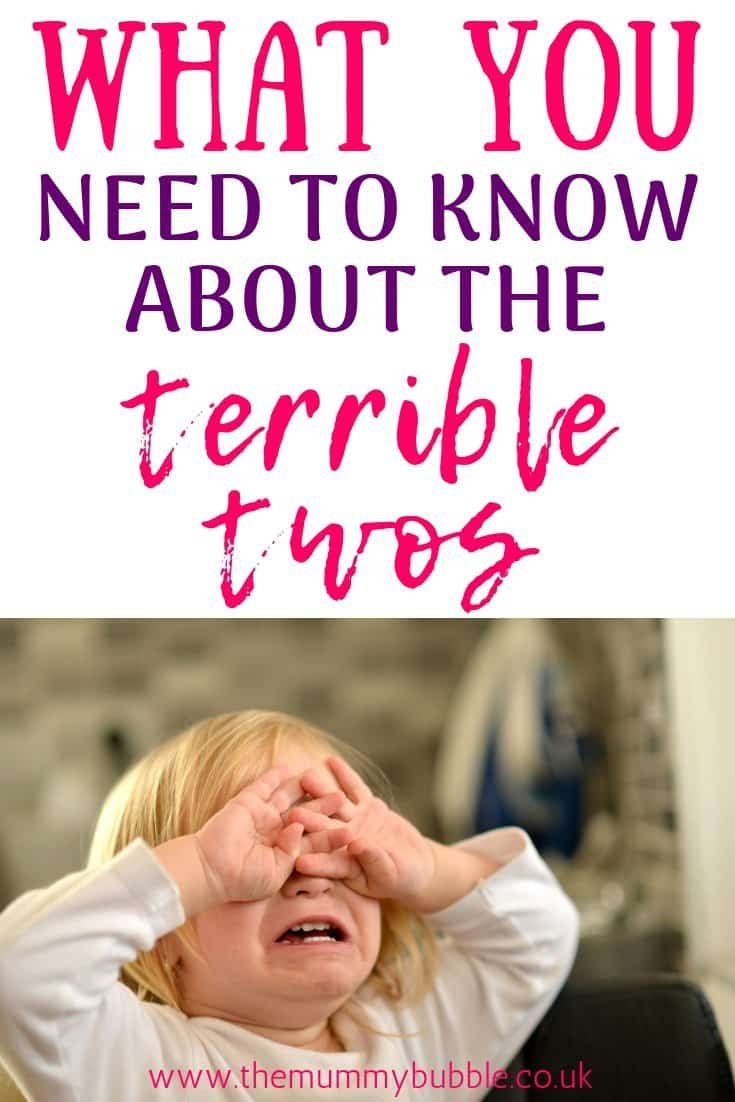 What you need to know about the terrible twos