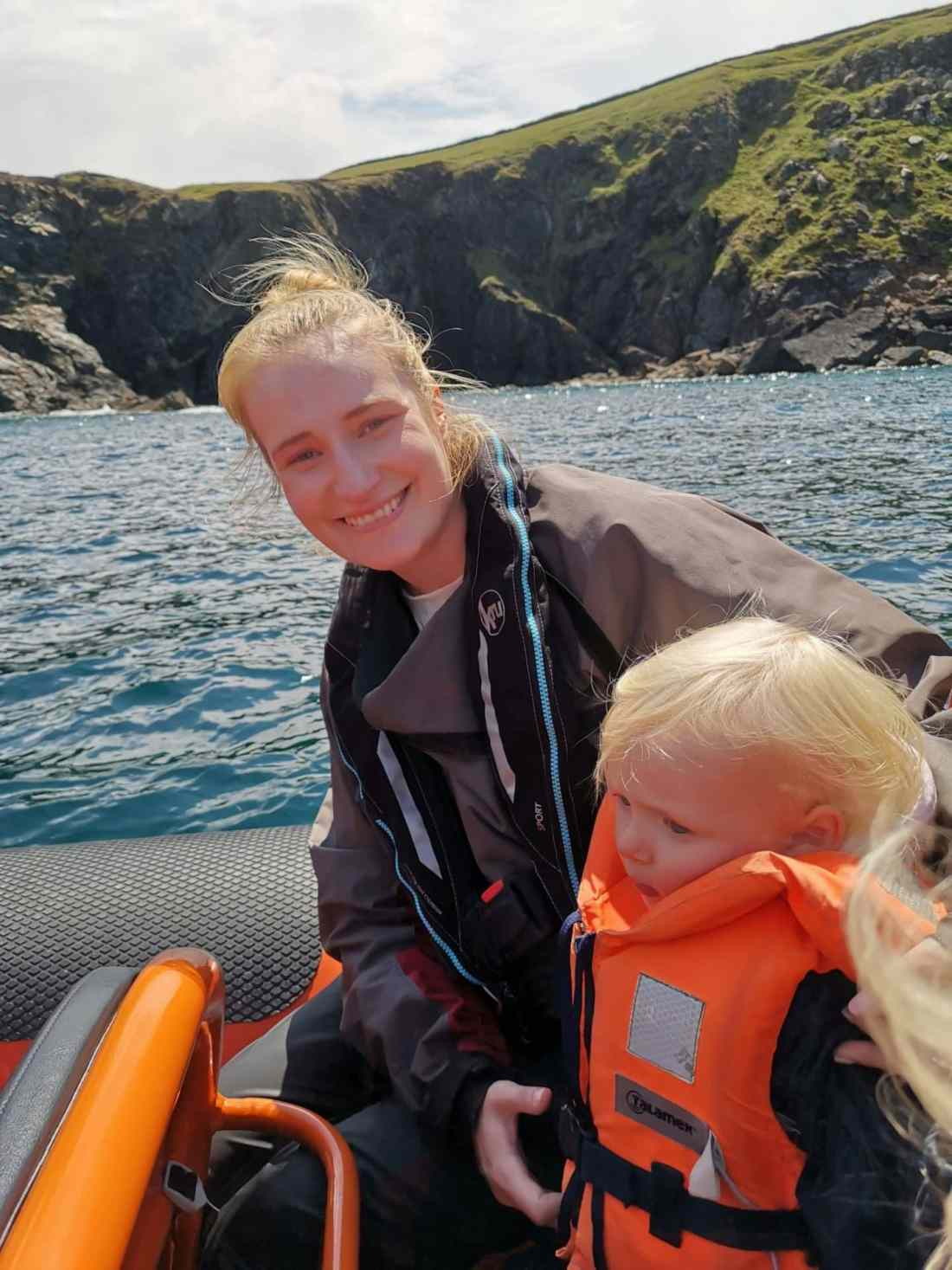Taking our toddlers to see seals and puffins from Padstow