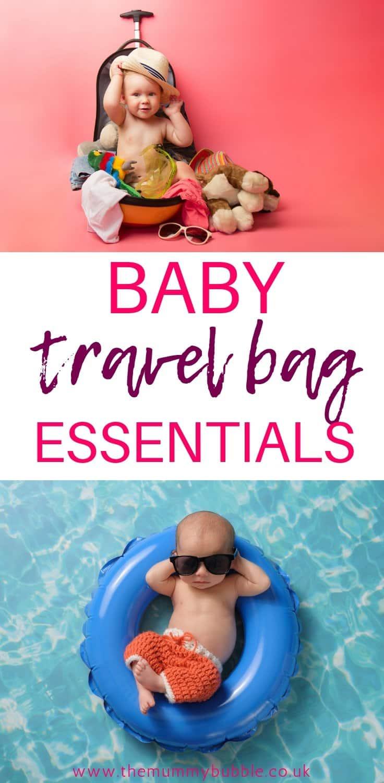 baby travel bag essentials