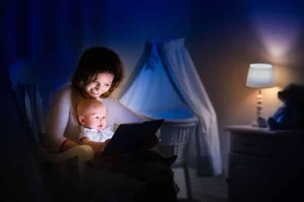 Tricks to get baby sleeping through the night