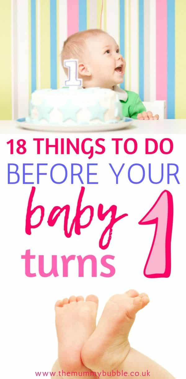 18 things to do before your baby turns 1