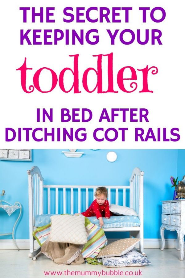 How to keep your toddler in bed after moving from cot to big bed