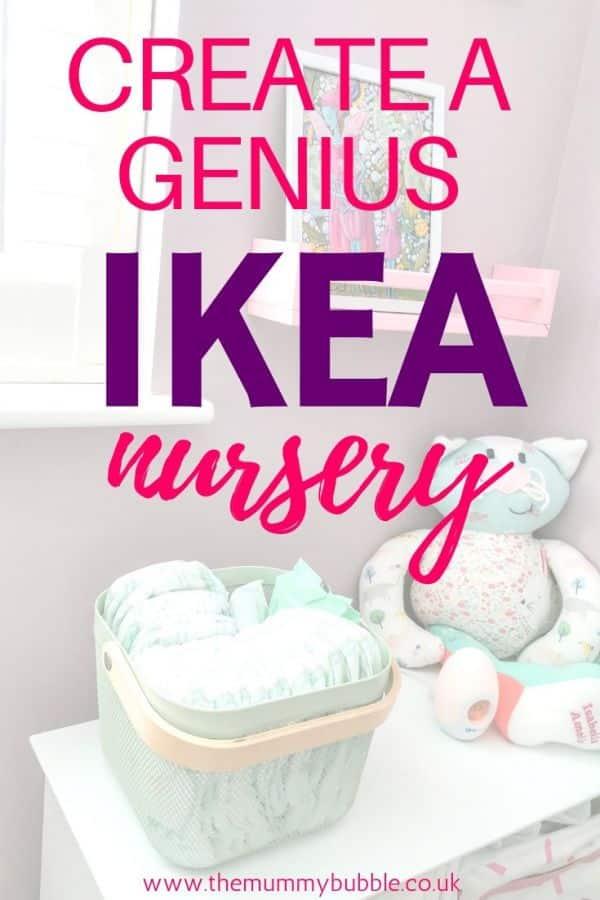How to create a beautiful nursery with IKEA furniture