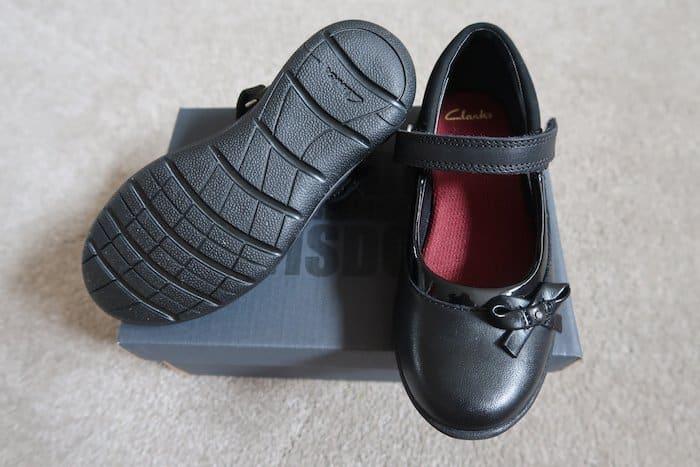 Girls Venture Star school shoes