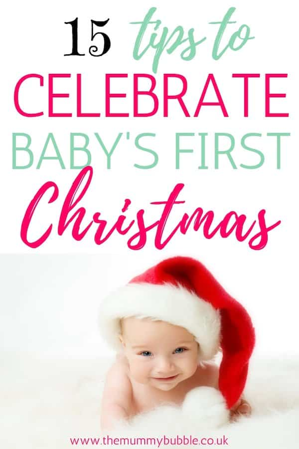 Tips to mark baby's first Christmas