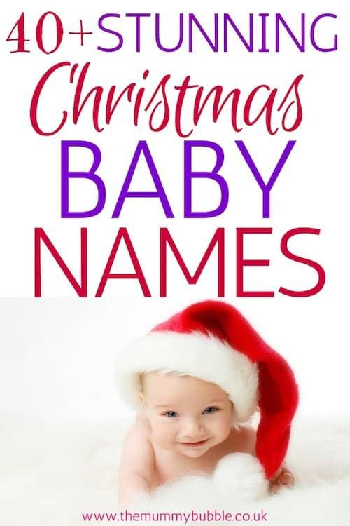 Stunning Christmas baby names