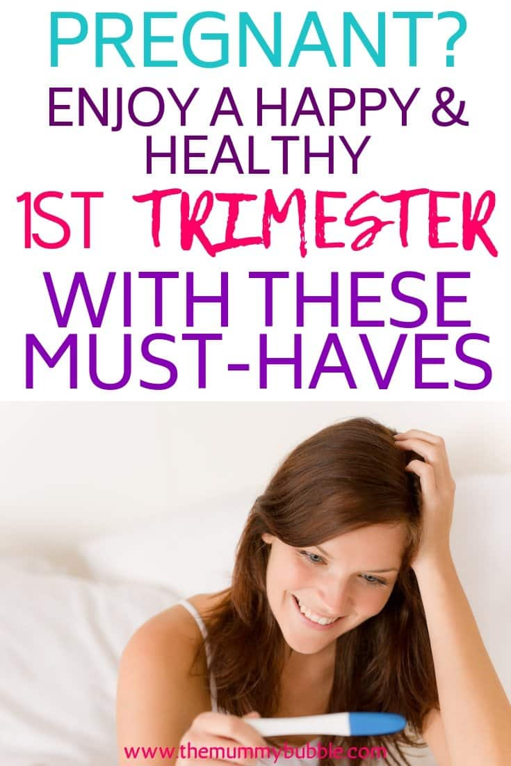 first trimester must-haves for pregnant ladies