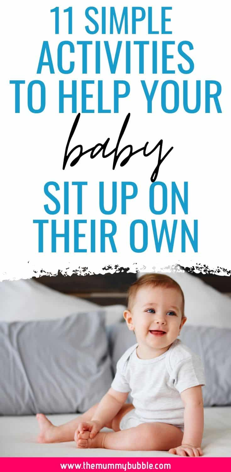 11 activities to help your baby sit up on their own