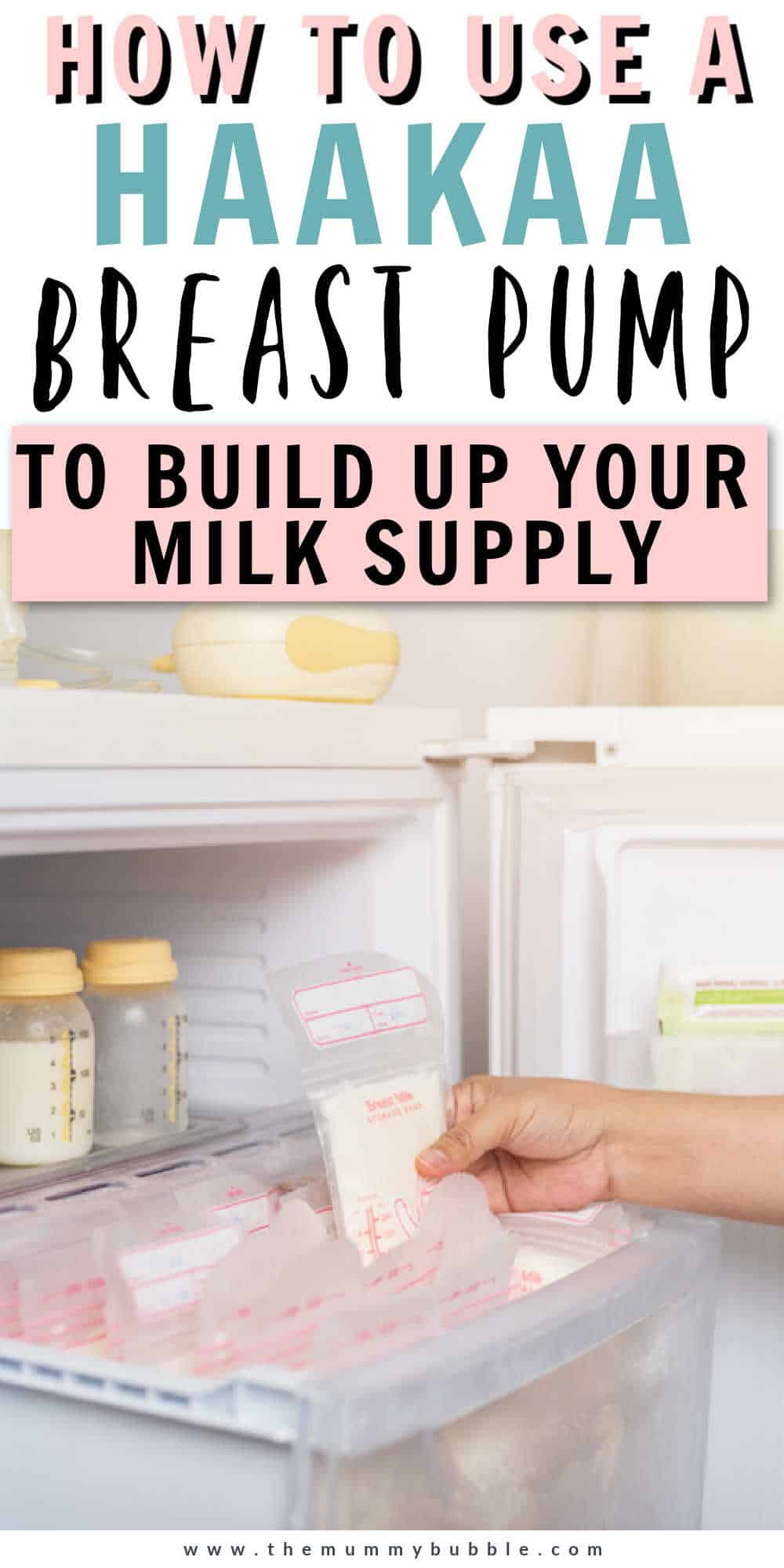 How to use a Haakaa breast pump to build up your milk supply and collect more breast milk