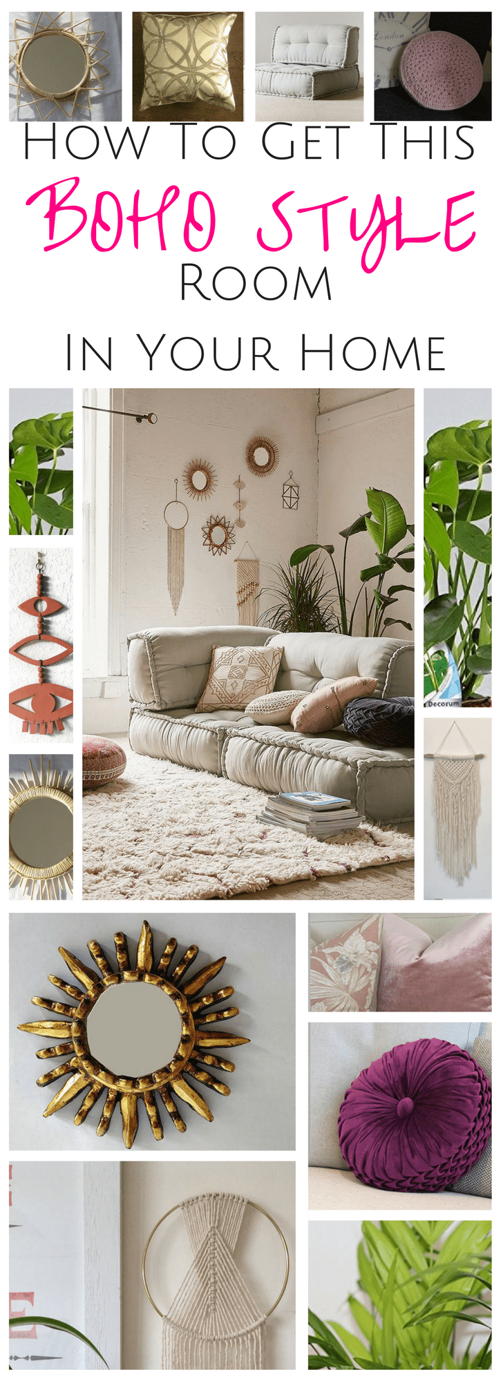Boho style Room Decor | Home Decor