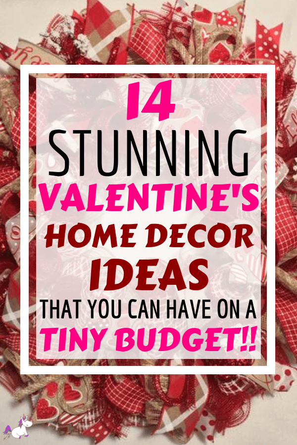 14 Stunning Valentine's Day Decoration Ideas you Will Seriously Fall In Love With This Year! #valentinesdaydecorationideas #valentines #valentinesdaycrafts #valentinesdecor #themummyfront Via: https://themummyfront.com   cute decor   home decor on a budget   Valentines decor for the home   valentines day craft ideas