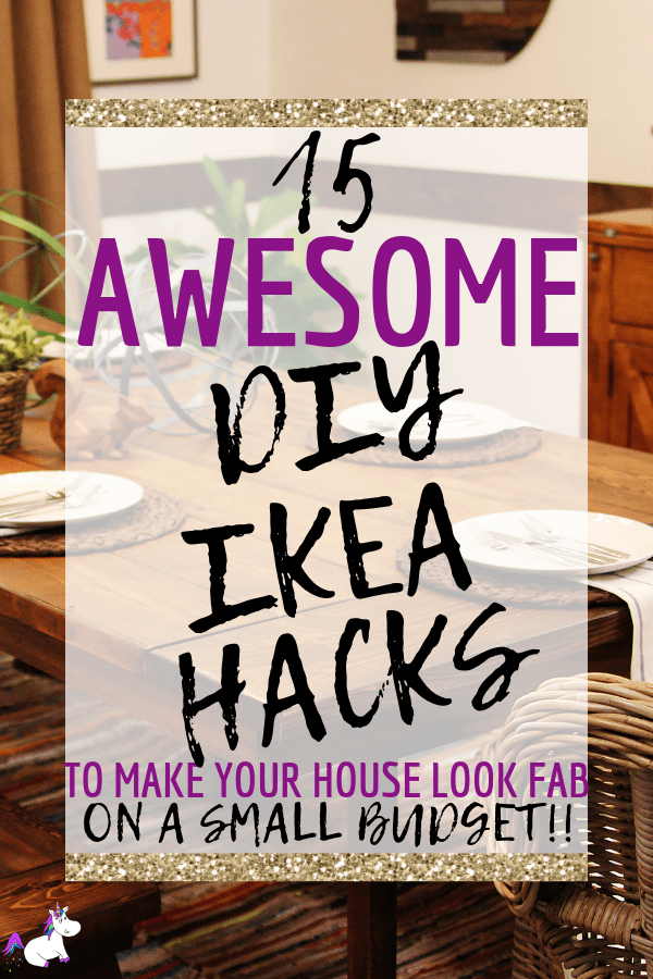 15 Awesom DIY Ikea Hacks To Make Your House Look Incredible On A Tiny Budget #ikeahacks #ikeahomedecor #homedecordiy #diyhomedecor #themummyfront #homedecoronabudget Via: https://themummyfront.com