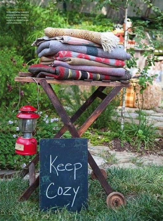 Garden Party Ideas, The Best Summer Party #blankets