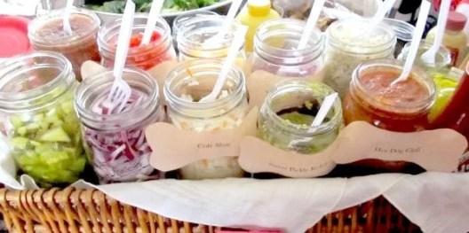 Garden Party Ideas #condiment bar