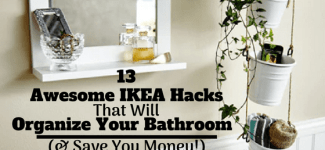 IKEA Bathroom Hacks ~ 13 Awesome Ideas That Will Organize Your Bathroom & Save You Money!