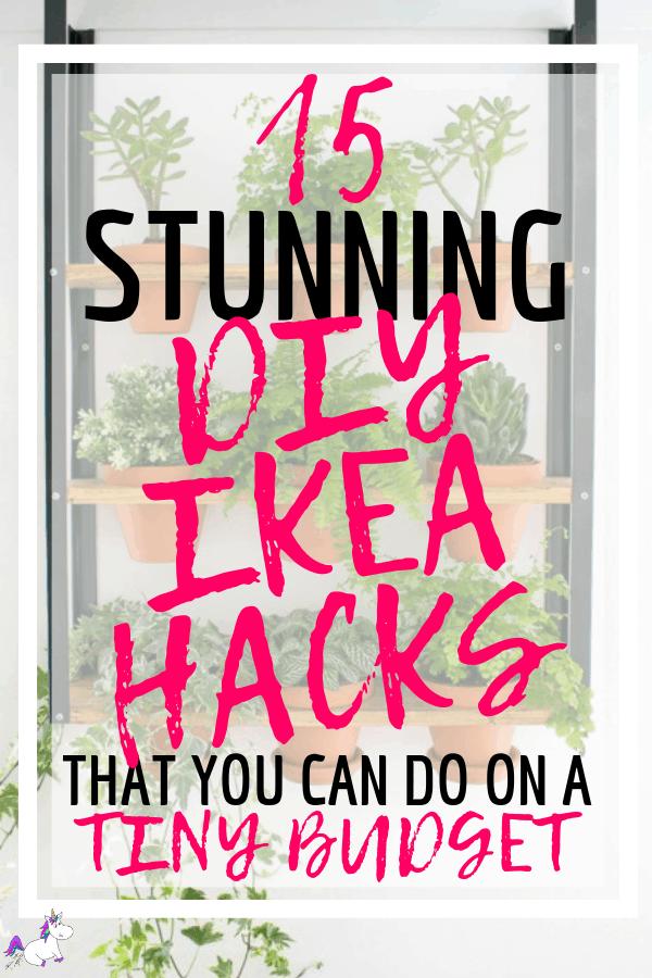 15 Stunning DIY Ikea Hacks That You can Do On A Tiny Budget   ikea   Ikea projects   ikea furniture   diy projects   Home decor on a budget   Via: https://themummyfront.com #ikeahacks #diyikeahacks #themummyfront #diyhomedecor #homedecoronabudget #ikea