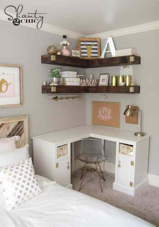 Small Home Office Ideas That Will Make You Want to Work Overtime, how to make a home office in a small space